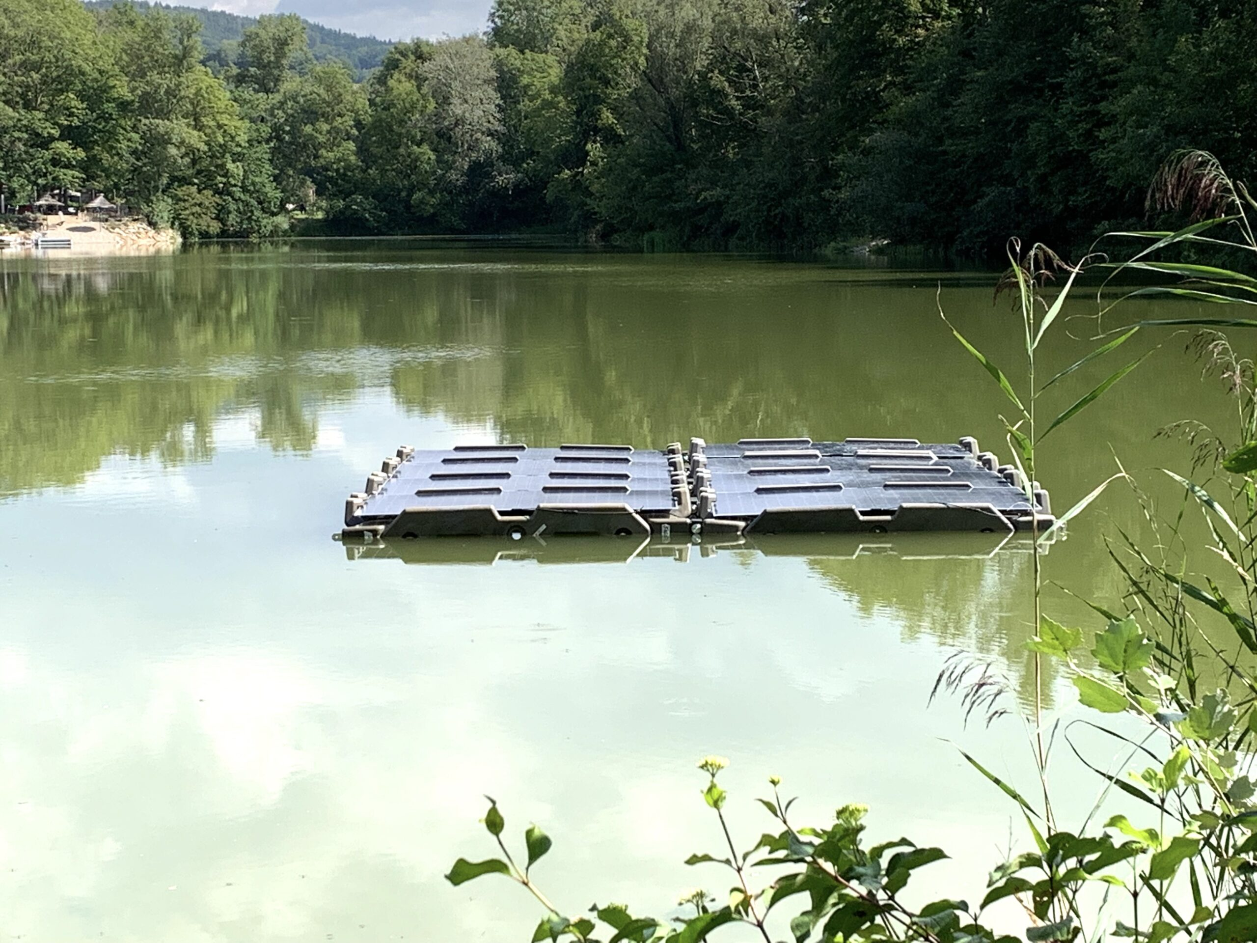 SolOcean-Floater schwimmt2